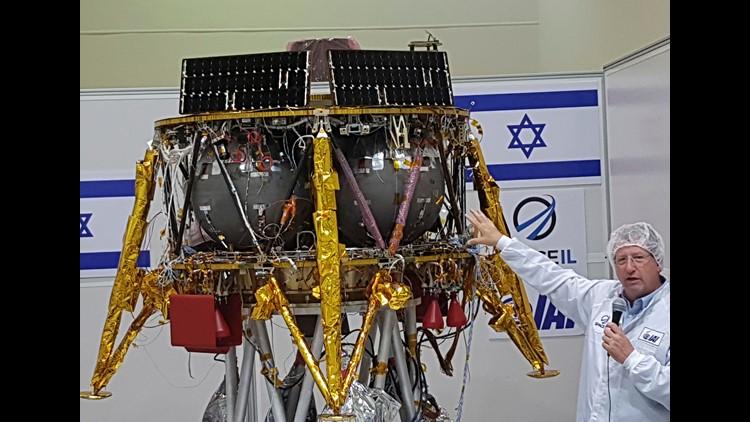AP ISRAEL LUNAR MISSION I ISR
