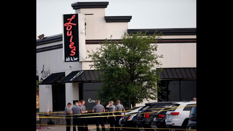 AP RESTAURANT SHOOTING-OKLAHOMA A USA OK