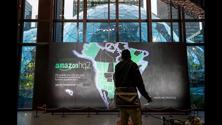 Amazon chooses New York City, Arlington, Virginia to jointly share its headquarters