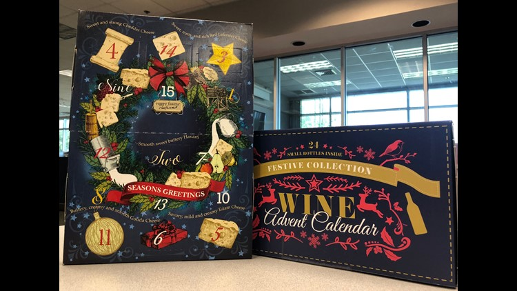 Aldi Wine Advent Calendar.Aldi Wine Advent Calendar Sells Out In Stores But Pops Up On Ebay