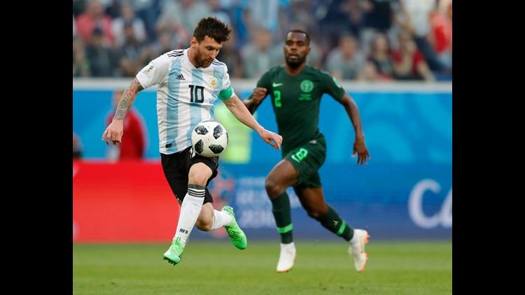 AP APTOPIX RUSSIA SOCCER WCUP NIGERIA ARGENTINA S SOC WSOC RUS