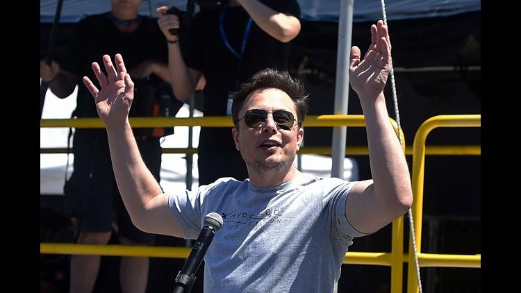 Elon Musk SpaceX Tesla Boring