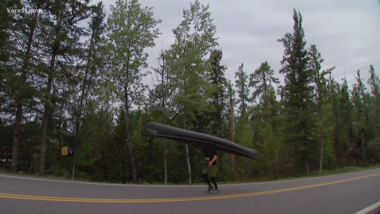 Land of 10,000 Stories: Ely hosts first-in-the-world canoe portaging marathon