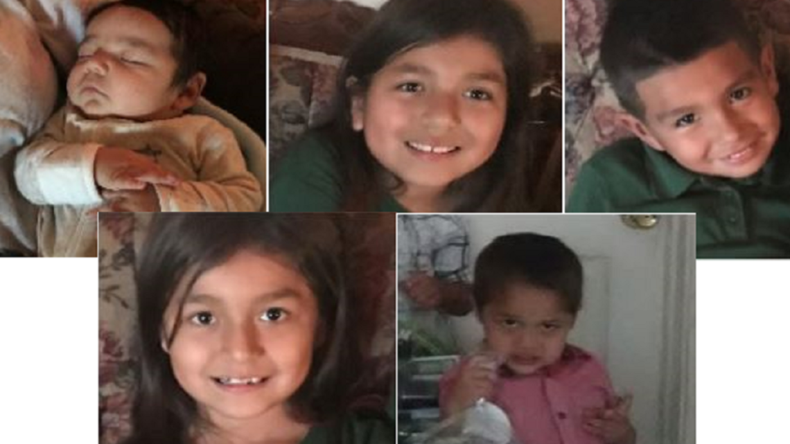 Amber Alert For Five Children Last Seen In Crystal City Discontinued Wfaa Com