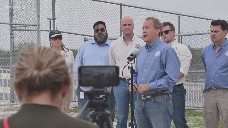 Texas AG Paxton threatens Biden administration with further legal action over border issues