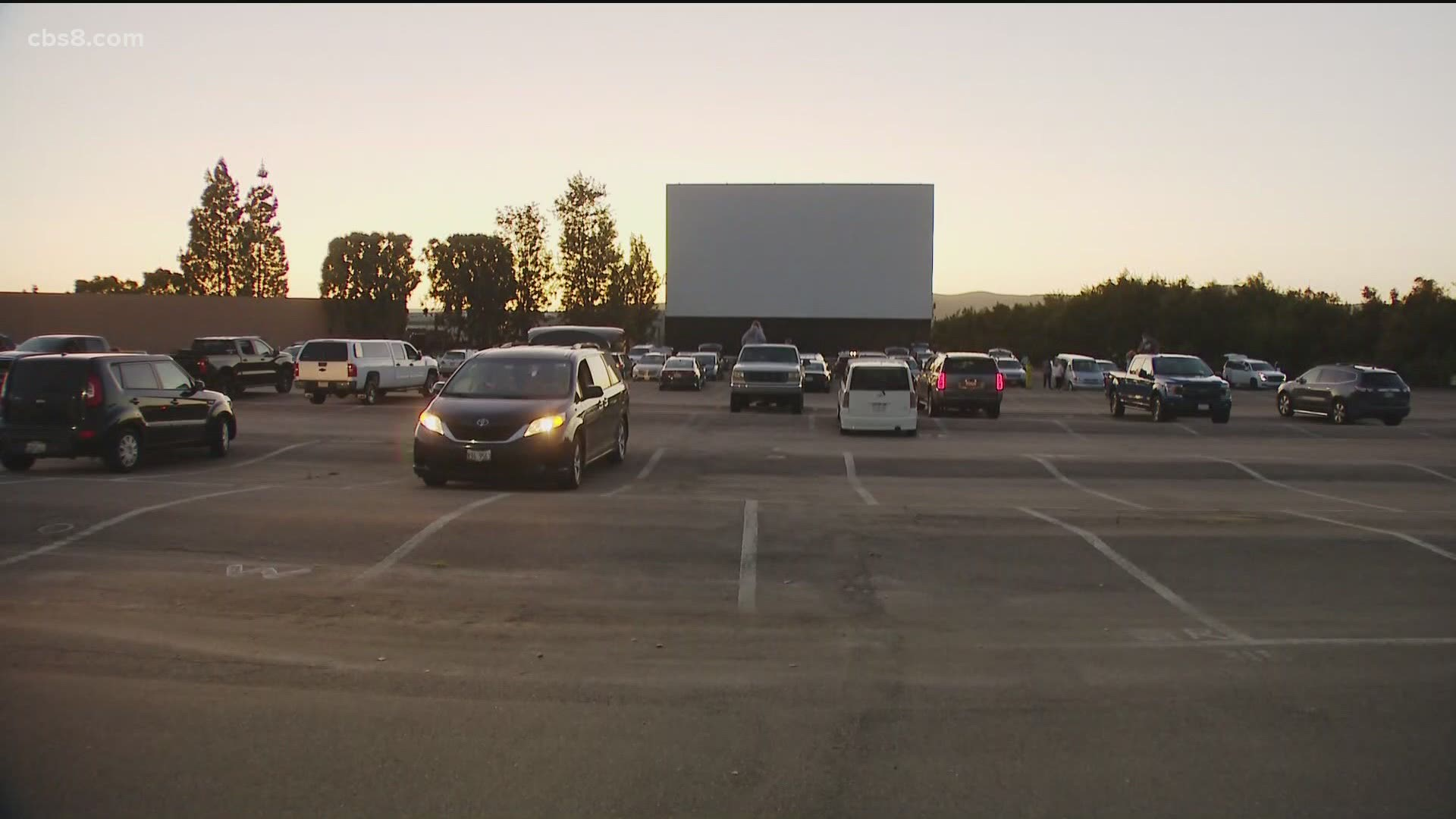 Santee Drive In Movie Theatre Finally Re Opens Wfaa Com