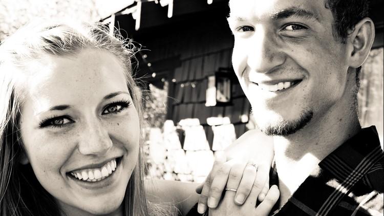 Kaylee Sawyer and her boyfriend, Camron Reimhofer