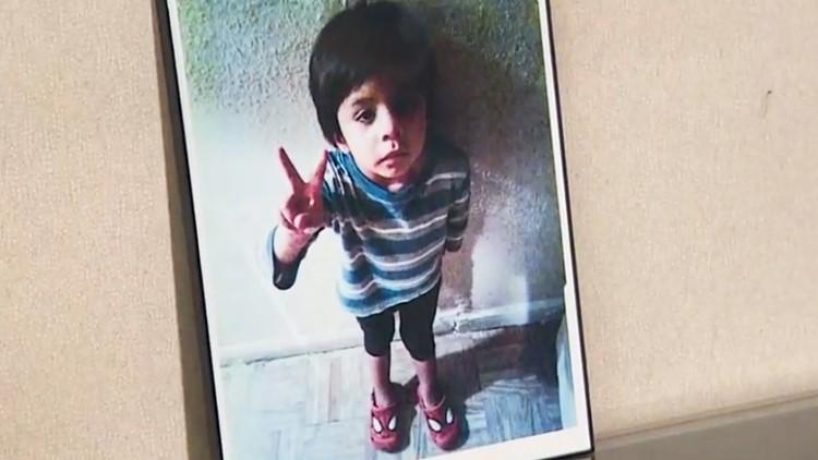 The child has been identified as Jayden Alexander Lopez, 4.