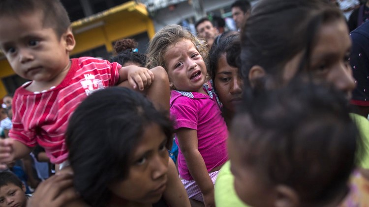 A toddler thrown from a train, a pregnant woman beaten, a father's head in a box: Migrant stories from the US-Mexico border