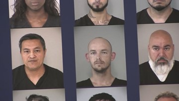 'In plain sight': Sex-trafficking sting nets 64 arrests in one Texas county