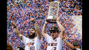 PARADE BLOG:  Houston Astros World Series Championship Parade