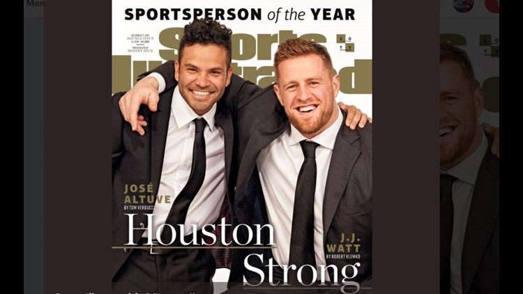 The 2017 Sports Illustrated Sportsperson of the Year honoree raised over $37 million for Hurricane Harvey recovery. He spoke with Jimmy about those efforts as well as his injury and his stylish cane. The Astros' José Altuve is also an honoree this year.