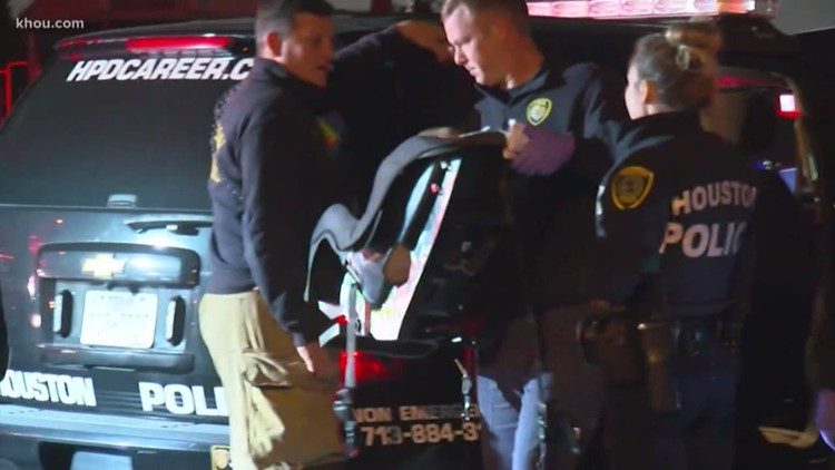 Car thieves leave baby in park after taking family's running car outside gas station