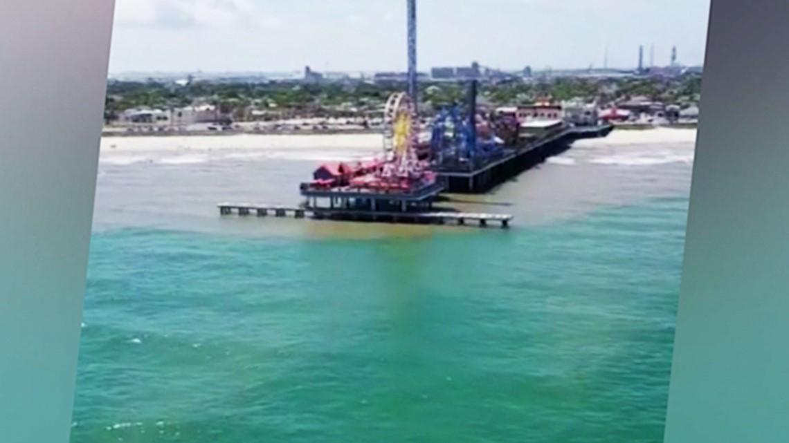 More clear blue water seen near Galveston beaches   wfaa com