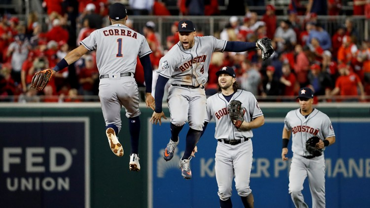 APTOPIX World Series Astros Nationals Baseball