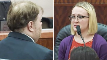 'Only God can help you now' | Survivor of massacre in Spring speaks directly to killer in court