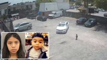 Video shows moments before boy is fatally hit by car; mother charged