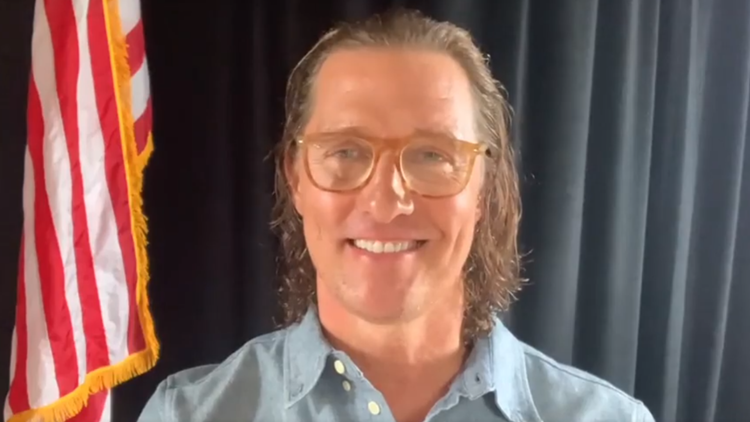 Matthew McConaughey holds 'We're Texas' virtual benefit for Texas winter storm victims