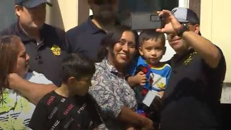 'God put everybody in his path' | Mother of 3-year-old Christopher Ramirez thanks 'angels' who searched for him