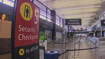Airport security screenings dropped to the lowest daily level in 10 years as COVID-19 spreads