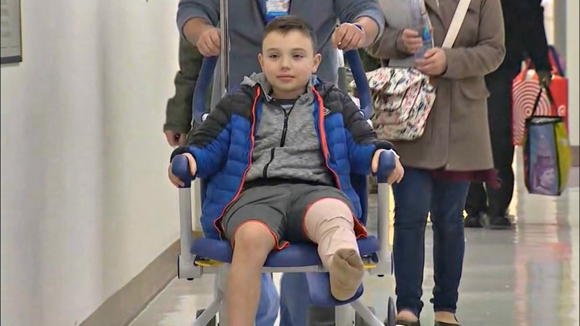 'Incredible young man': Boy released from hospital after downtown Seattle shooting