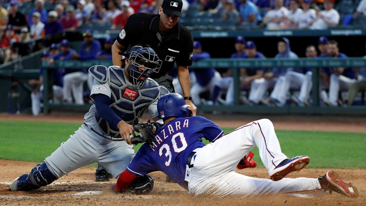 Mariners lose to the Rangers