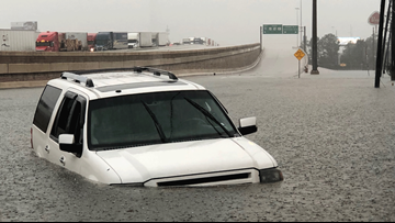 Hundreds of water rescues reported as Imelda drenches East Texas