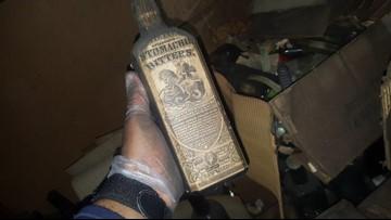 Family discovers prohibition-era secrets in the attic