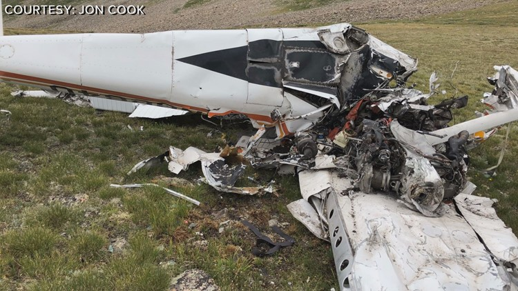 Man and his son-in-law find wreckage of missing plane outside of Leadville