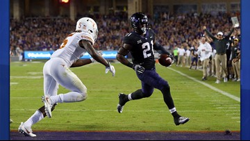 Here's a look into 120-plus years of Texas Longhorns vs. TCU Horned Frogs history