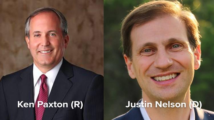 Texas Attorney General Ken Paxton seeking second term against Democratic Austin lawyer