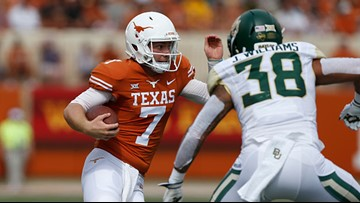 Longhorns quarterback Shane Buechele transferring to SMU