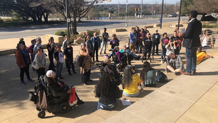 Texans march in Austin to support criminal justice reform on first day of legislative session