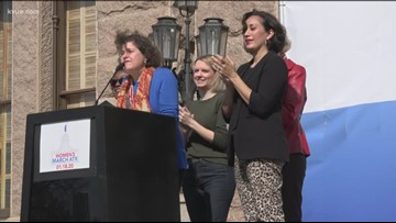 Thousands rally at Texas State Capitol for Women's March ATX