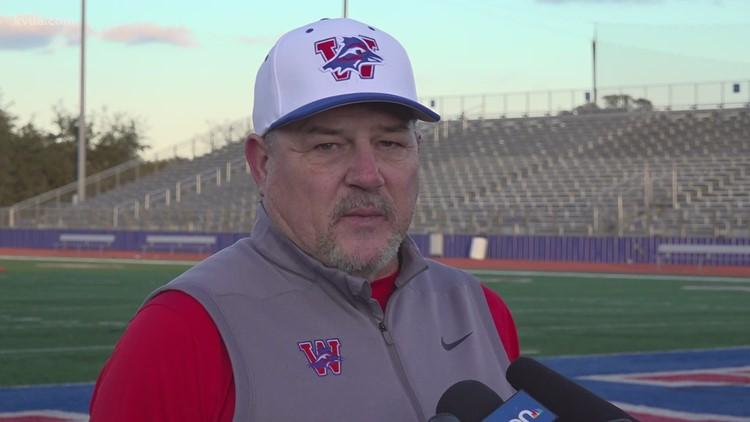 Westlake head football coach Todd Dodge announces this season will be his last