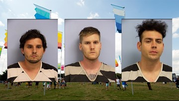 3 men sold, reused same 5 ACL Fest wristbands more than 100 times, Austin police say