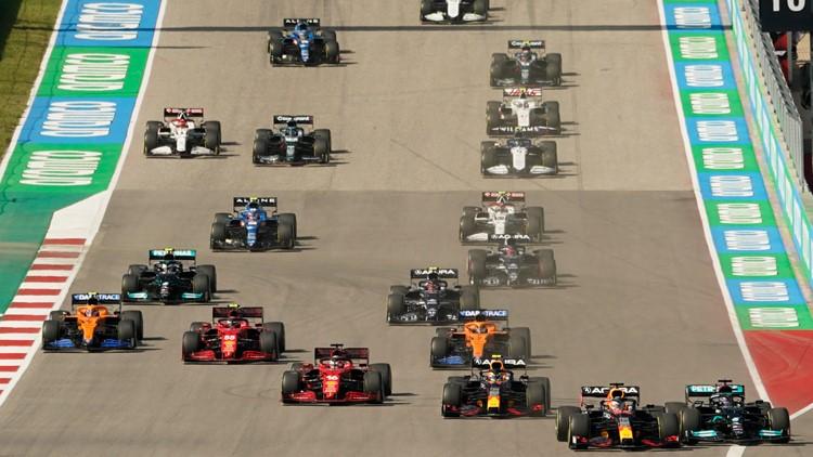 Verstappen wins F1 U.S. Grand prix, extends title chase lead