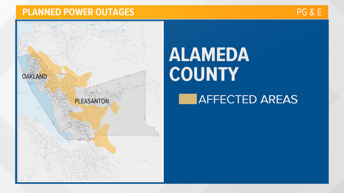 PG&E power outages 2019   Maps and shutoff information ...