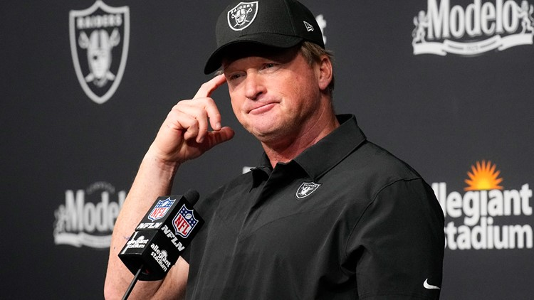 Report: Raiders, Jon Gruden to work on settlement for remaining $40 million of contract
