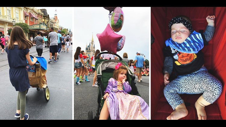 Lots of options for strollers at Disney. (Photos by Summer Hull / The Points Guy)
