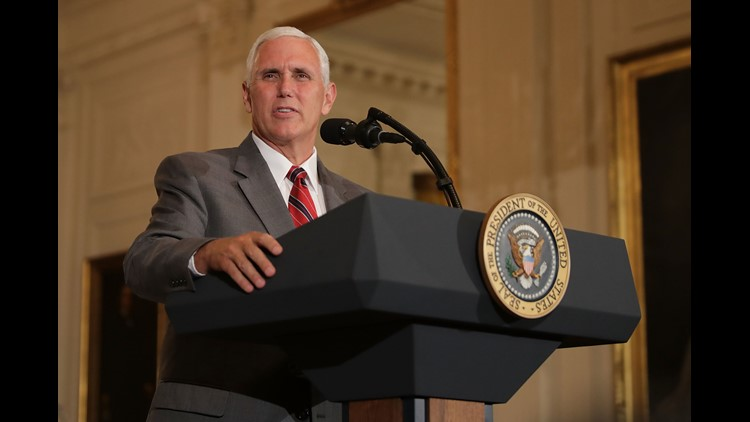 <p>Vice President Mike Pence has pushed back against a news report suggesting he is laying groundwork for a possible presidential bid in 2020 if President Donald Trump does not run.</p>