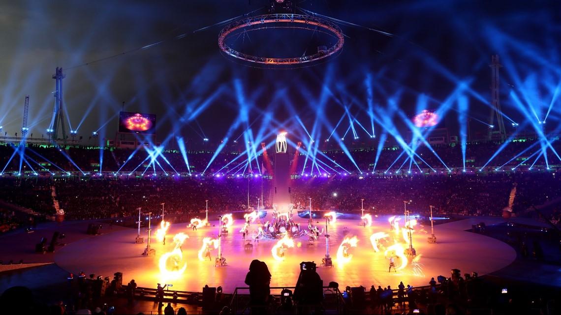 2020 Winter Olympics Opening Ceremony.Photos 2018 Winter Olympics Opening Ceremony Wfaa Com
