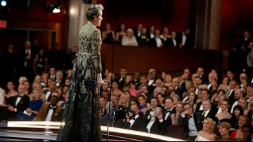 Frances McDormand's two words in 2018 Oscar speech: 'inclusion rider'