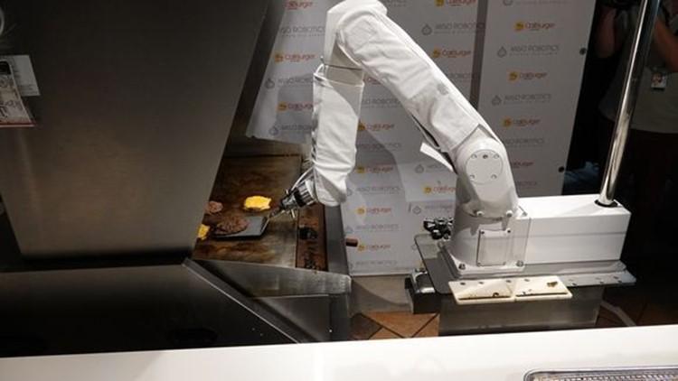 Flippy the robot California
