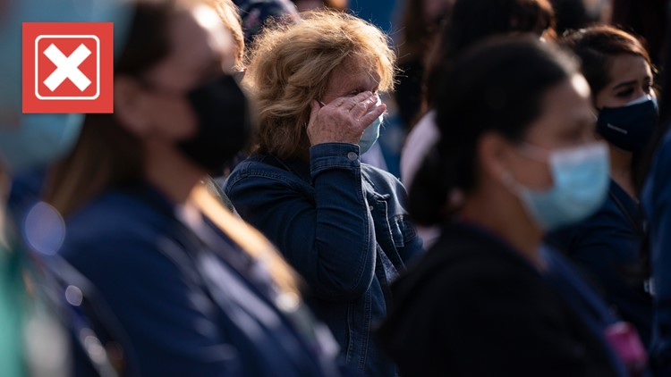 No, the U.S. COVID death toll has not hit a pandemic low