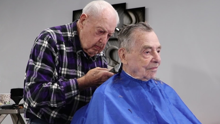 'I'll have to quit someday, but not today' | 92-year-old barber has been cutting hair for more than 73 years
