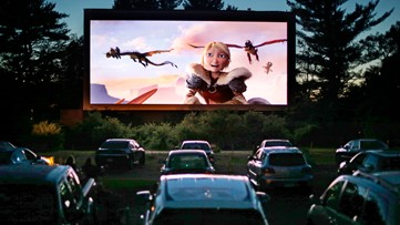 As Most North Texas Movie Theaters Remain Closed Drive In Theaters Prepare Their Screens Wfaa Com