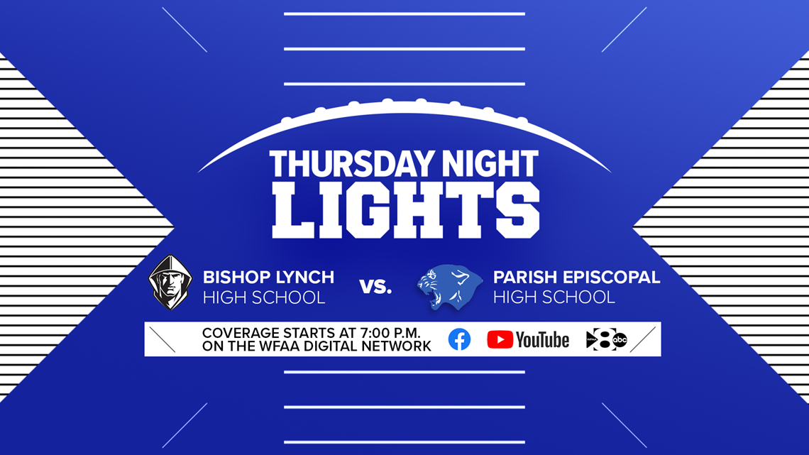 Thursday Night Lights: Bishop Lynch vs. Parish Episcopal