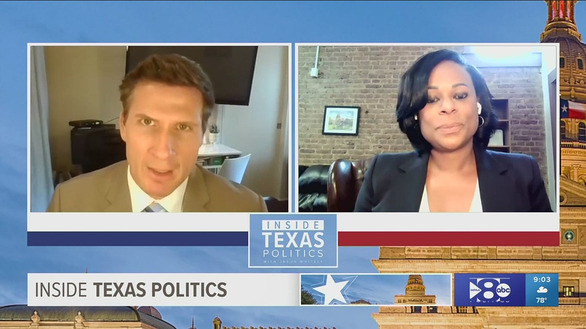 Texas representative Nicole Collier talks about state's current election bill