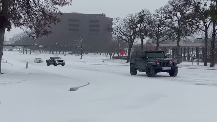 Here's how to drive in the snow, if you have to